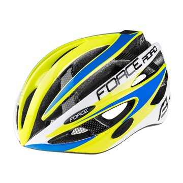 Bluza ciclism Force Lux maneci lungi negru/alb S