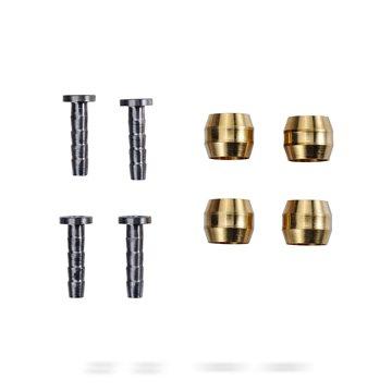 Set 4 suruburi otel Reverse pentru etrier aurii