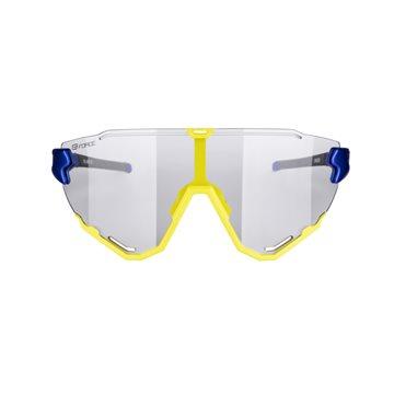 Banda reflectorizanta Force Lun Velcro, fluo