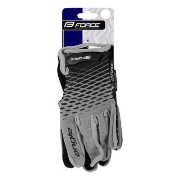 Bidon Force Stripe 0.5l transparent/rosu