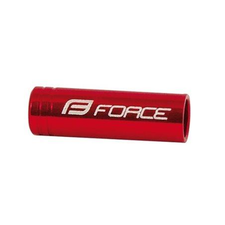 Manusi Force Grip gel negru/rosu L