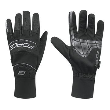 Manusi iarna Force Ultra Tech negre XL