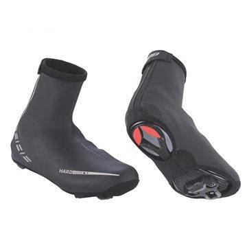 Pantaloni scurti cu bazon si bretele Force B45 negru/rosu L