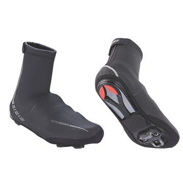 Pantaloni scurti cu bazon si bretele Force B45 negru/fluo XL