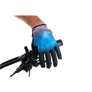 Manusi Alpinestars Drop Pro poseidon blue/energy orange XL