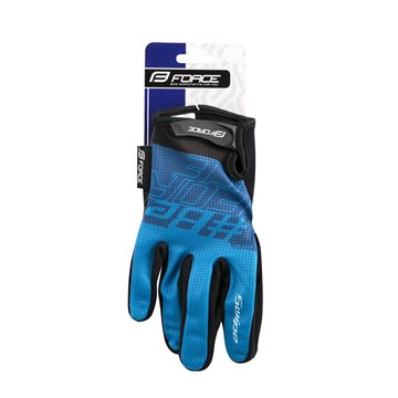 Manusi Alpinestars Predator black/royal blue/acid yellow XL