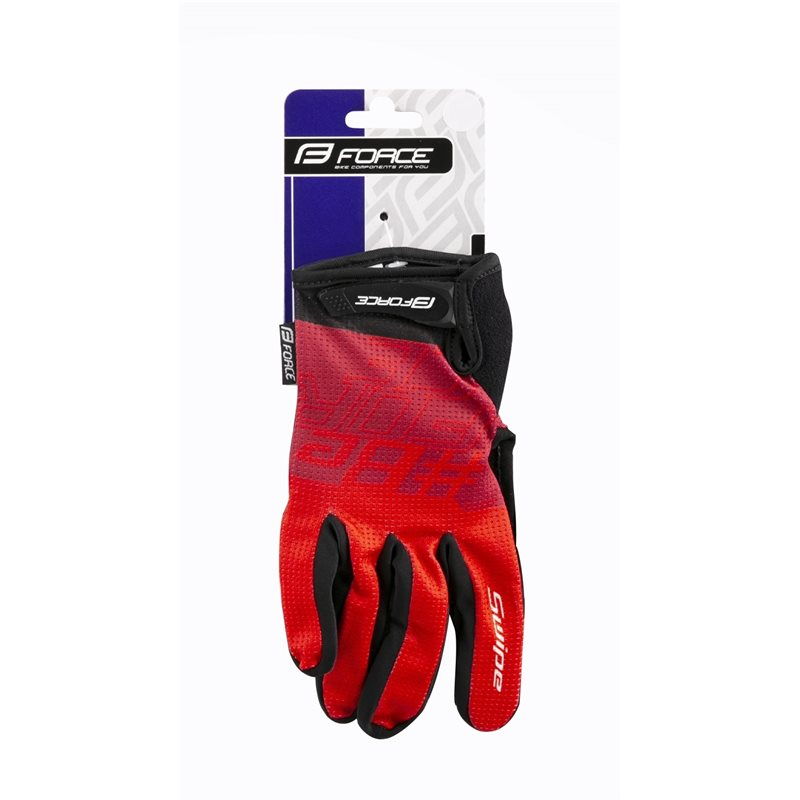 Manusi Alpinestars Predator black/steel gray/red XXL