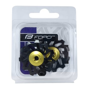 Sosete Force Long Plus fluo/negru XXL