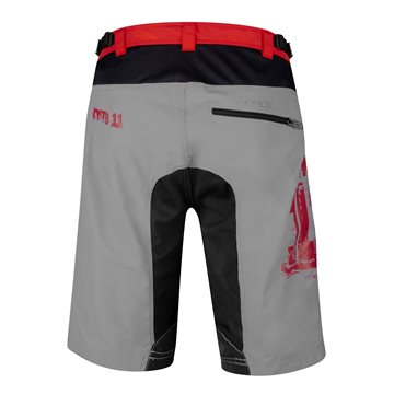 Sosete Force Long Plus fluo/negru L-XL