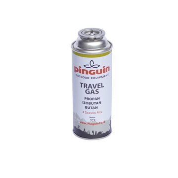 Butelie cu valva Pinguin Travel Gas 220g