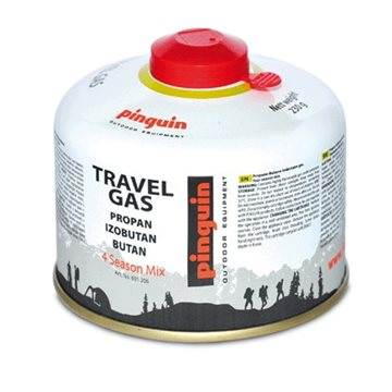 Butelie cu valva Pinguin Travel Gas 230g