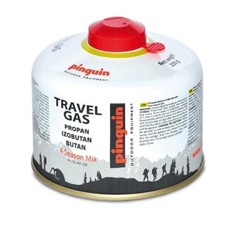 Butelie cu valva Pinguin Travel Gas 230g
