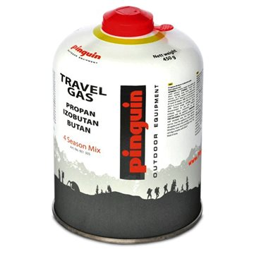 Butelie cu valva Pinguin Travel Gas 450g