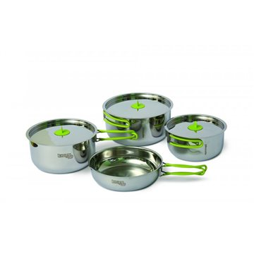 Set vase Pinguin Trio Steel L