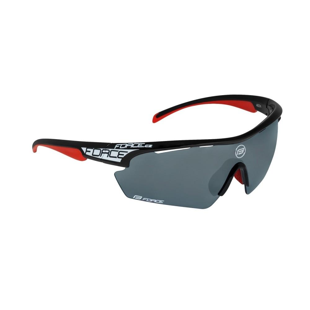 Ochelari Force Aeon negru/rosu lentila neagra