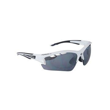 Ochelari Force Ride Pro cu suport lentile alb/negru