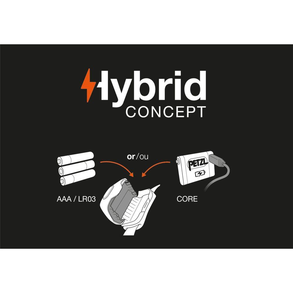 Lanterna Petzl Hybrid Concept