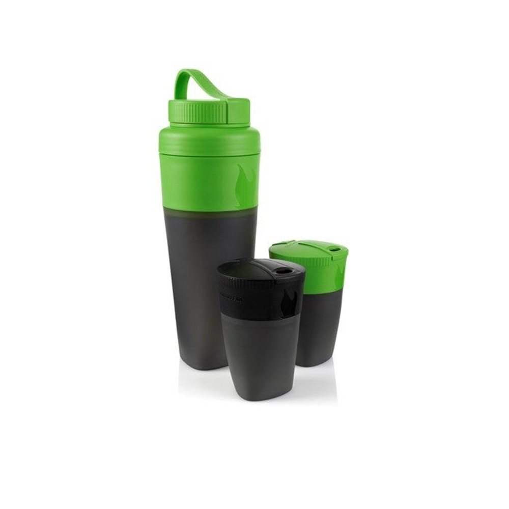 Set DrinkKit Light My Fire Pack Up-Black/Green