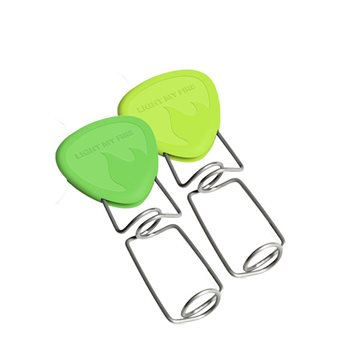 Furca de prajit Light My Fire Grandpa's 2 pack-Lime-Green