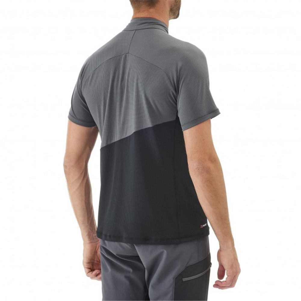 Tricou Millet ELEVATION ZIP SS M