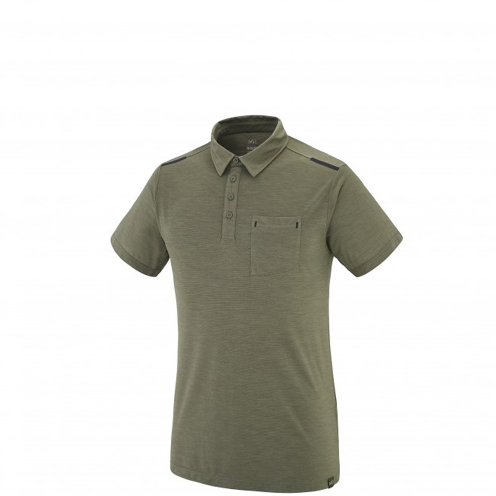 Tricou Millet IMJA WOOL POLO M