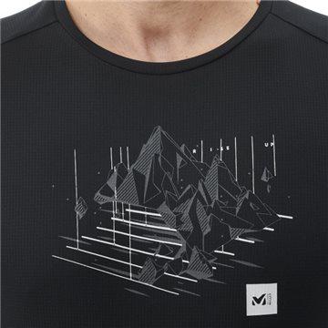 Tricou Millet Black Mountain TS SS M