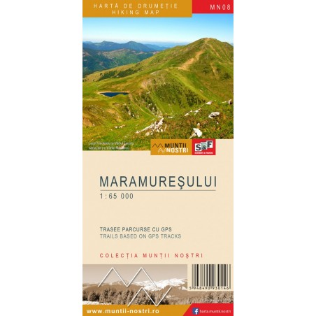 Harta Muntii Maramuresului