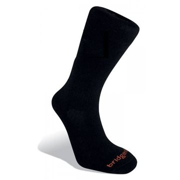 Sosete Bridgedale Merino Fusion Cross Country Black