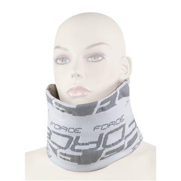 Bandana Force multifunctionala pentru iarna alb/gri
