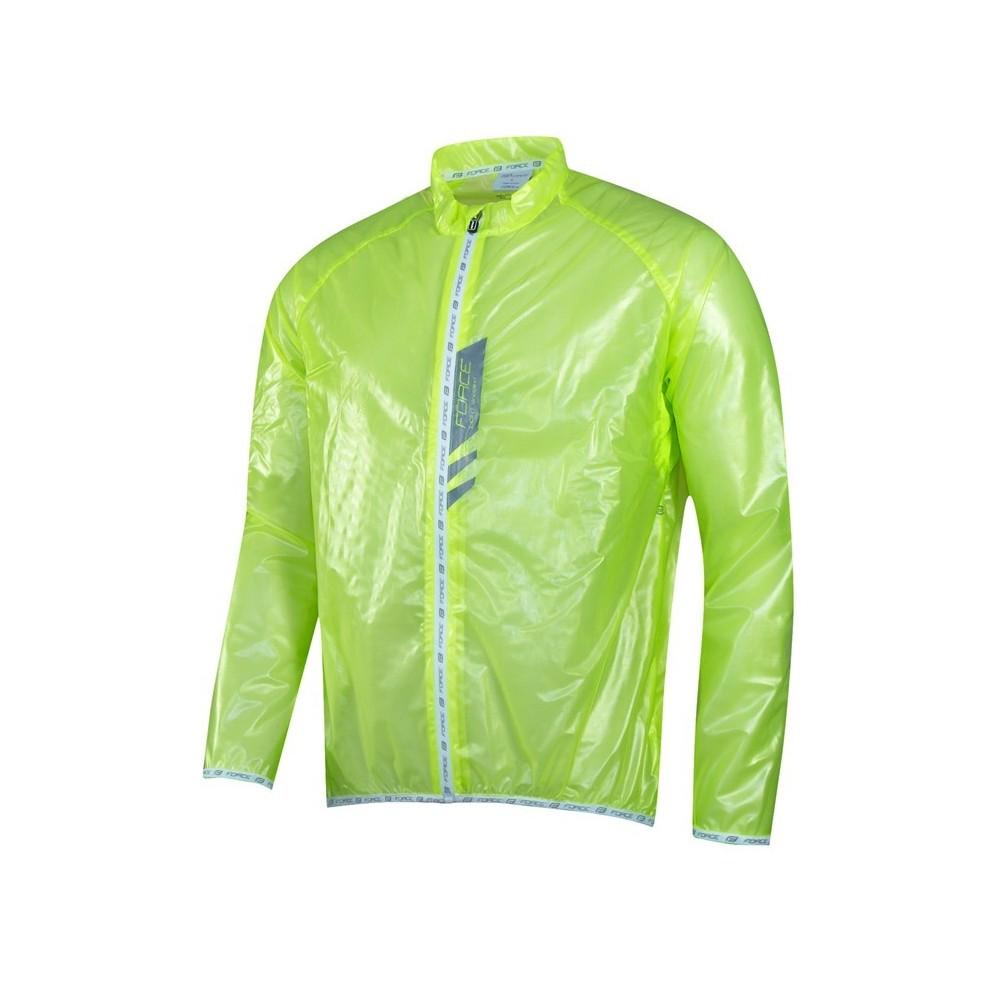 Jacheta Force Lightweight verde fluo SLIM L