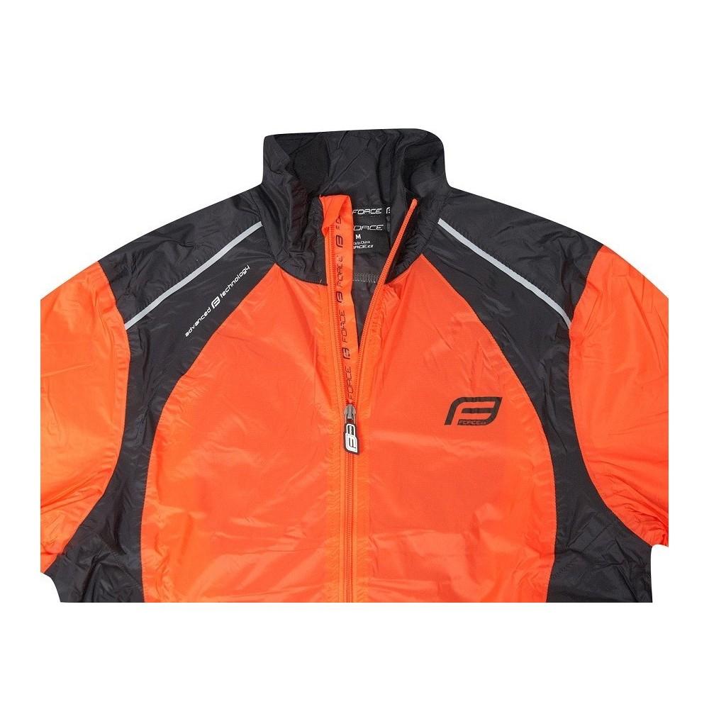 Jacheta Force X53 portocaliu/negru S
