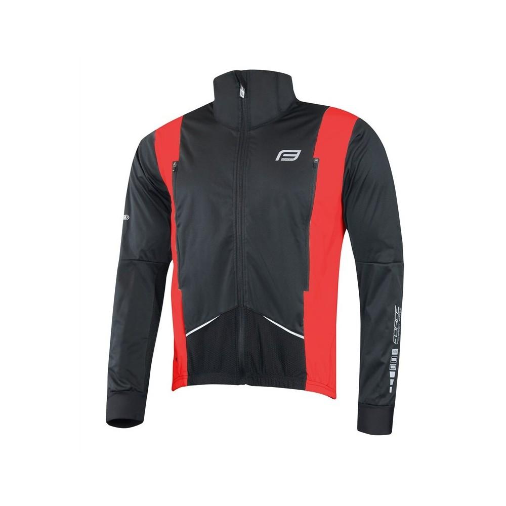Jacheta Force X58 barbati negru/rosu S