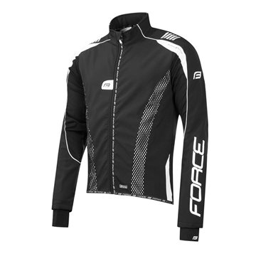 Jacheta Force X72 PRO Men softshell negru-alb M