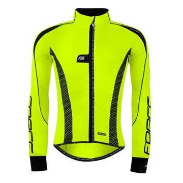 Jacheta Force X72 PRO16 Men softshell fluo-negru L