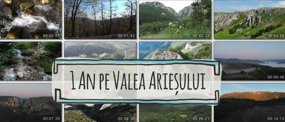 1 an pe Valea Arieșului (video)